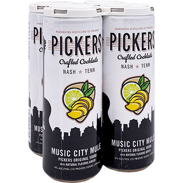 Pickers Crafted Cocktails Music City Mule