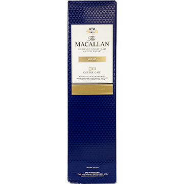 The Macallan Double Cask Gold Highland Single Malt Scotch Whiskey with Box