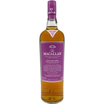 The Macallan Edition No. 5 Highland Single Malt Scotch Whiskey
