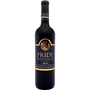 Pride Mountain Vineyards Merlot 2014