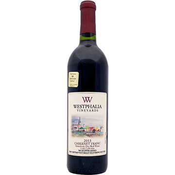 Westphalia Vineyards Cabernet Franc 2013