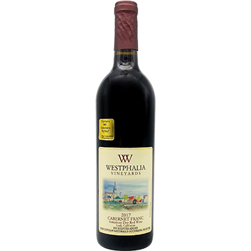 Westphalia Vineyards Cabernet Franc 2017