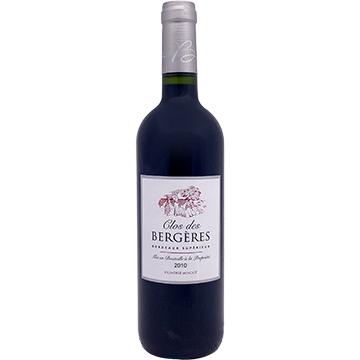 Clos des Bergeres Bordeaux Superieur 2010