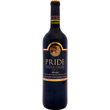 Pride Mountain Vineyards Merlot 2015