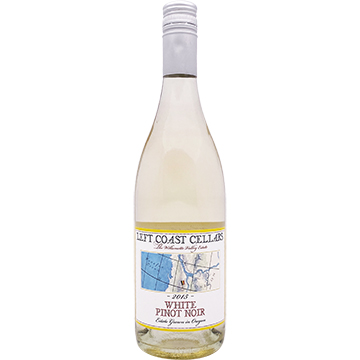 Left Coast Cellars White Pinot Noir 2015