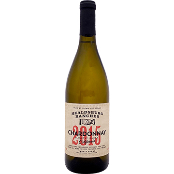 Healdsburg Ranches Slightly Oaked Chardonnay 2015