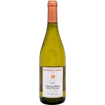 Dauvergne Ranvier Cotes du Rhone Vin Gourmand Blanc 2012