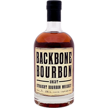 Backbone Uncut Straight Bourbon Whiskey