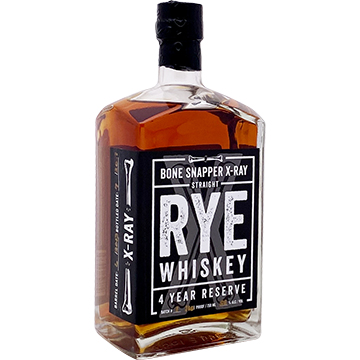 Backbone Bone Snapper X-Ray 4 Year Old Reserve Straight Rye Whiskey