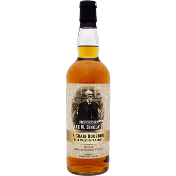 Spirits of French Lick Lee W. Sinclair 4 Grain Straight Bourbon Whiskey