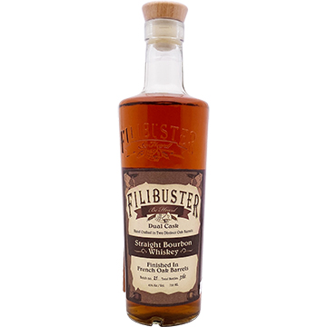 Filibuster Dual Cask Finished Straight Bourbon Whiskey