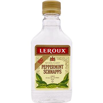Leroux 100 Proof Peppermint Schnapps Liqueur