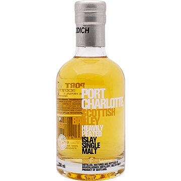 Bruichladdich Port Charlotte Scottish Barley Single Malt Scotch Whiskey