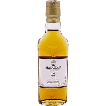The Macallan Sherry Oak 12 Year Old Single Malt Scotch Whiskey