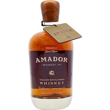 Amador Ten Barrels Straight Hop-Flavored Whiskey