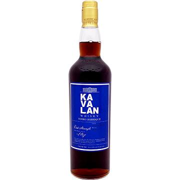 Kavalan Vinho Barrique Cask Strength Taiwanese Single Malt Whiskey