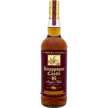 Knappogue Castle 16 Year Old Twin Wood Sherry Finish Single Malt Irish Whiskey