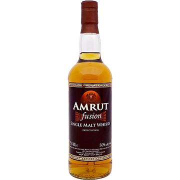 Amrut Fusion Indian Single Malt Whiskey
