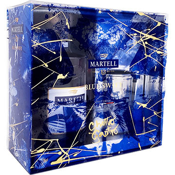 Martell Blue Swift VSOP Limited Edition Cognac by Ghetto Gastro Gift Set with Julep Glass