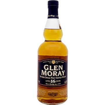 Glen Moray 16 Year Old Speyside Single Malt Scotch Whiskey