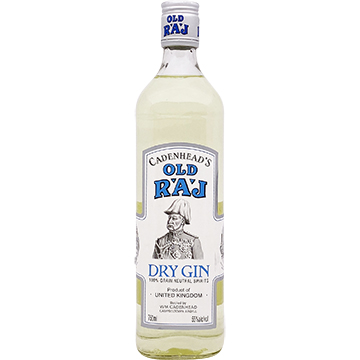 Cadenhead's Old Raj Blue Label 110 Proof Gin