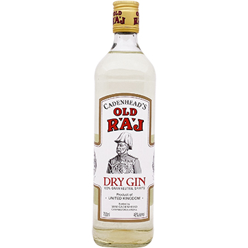 Cadenhead's Old Raj Red Label 92 Proof Gin