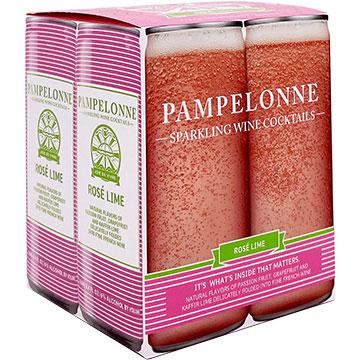 Pampelonne Rose Lime Sparkling Wine Cocktail