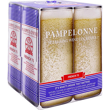Pampelonne French 75 Sparkling Wine Cocktail