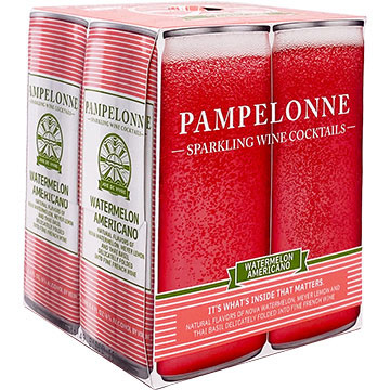 Pampelonne Watermelon Americano Sparkling Wine Cocktail