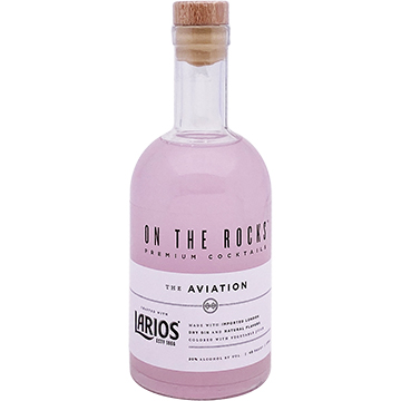 On The Rocks Larios Gin The Aviation Cocktail