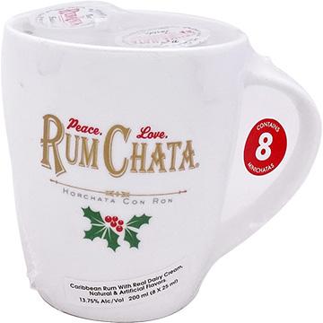 Rum Chata Mini Chatas Liqueur with Coffee Mug