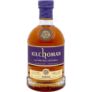 Kilchoman Sanaig Islay Single Malt Scotch Whiskey