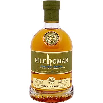 Kilchoman Original Cask Strength Islay Single Malt Scotch Whiskey