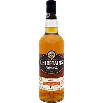 Chieftain's Braeval 19 Year Old Speyside Single Malt Scotch Whiskey