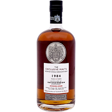 The Exclusive Malts 10th Anniversary Invergordon 1984 30 Year Old Highland Single Grain Scotch Whiskey