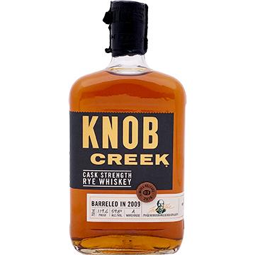 Knob Creek 2018 Limited Edition Cask Strength Rye Whiskey