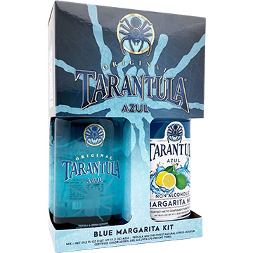 Tarantula Azul Tequila Gift Set with Blue Margarita Mix