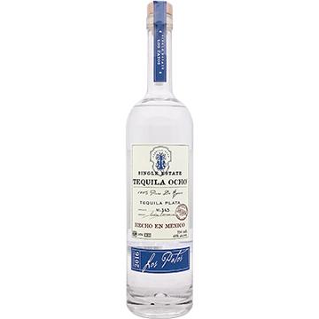 Tequila Ocho Los Patos Plata Tequila 2016