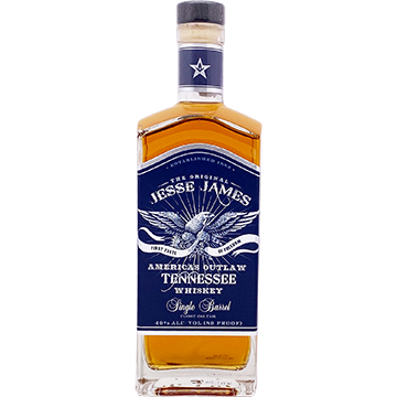 Jesse James Single Barrel Tennessee Whiskey