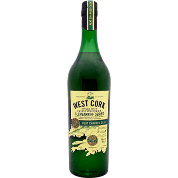 West Cork Glengarriff Series Peat Charred Cask Single Malt Irish Whiskey