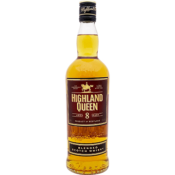 The Highland Queen 8 Year Old Blended Scotch Whiskey