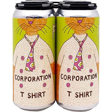 Fat Orange Cat Corporation T-Shirt