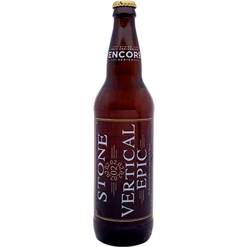 Stone 20th Anniversary Encore Series 02.02.02 Vertical Epic Ale 2016