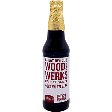 Great Divide Wood Werks Barrel Series No. 3 Brown Rye Ale