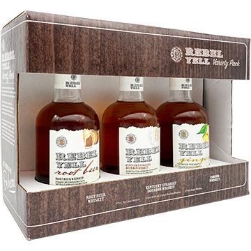 Rebel Yell Whiskey Variety Pack