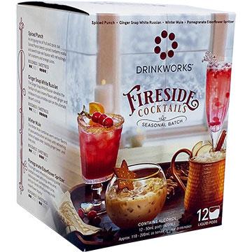 Drinkworks Fireside Cocktails Variety Pack
