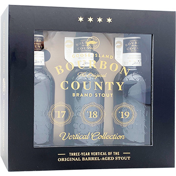 Goose Island Bourbon County Brand Stout Vertical Collection