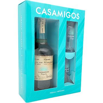 Casamigos Reposado Tequila Gift Set with 2 Shot Glasses