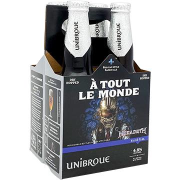 Unibroue Megadeth A Tout Le Monde