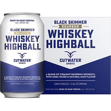 Cutwater Black Skimmer Whiskey Highball